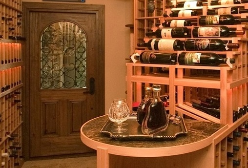 residential-wine-cellar-miami-builders & Exceptional and Functional Home Wine Cellar Design by a Passionate ...